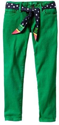 Gap Super skinny green skimmer jeans