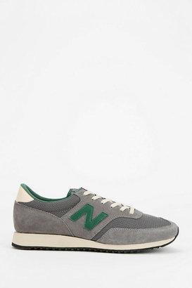 New Balance 620 Grey & Green Running Sneaker
