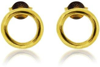 Maya Magal Circle Studs - Gold