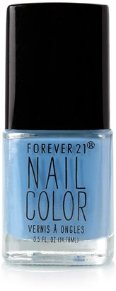 Forever 21 Stone Blue Nail Polish