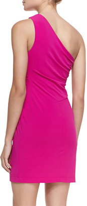 Yigal Azrouel Cut25 by Gathered One-Shoulder Dress
