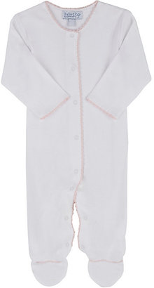 Baby CZ Long-Sleeve Footed Coverall