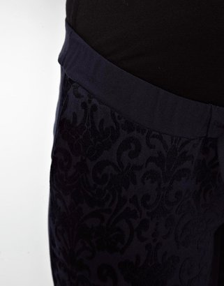 Asos Soft Pant In Jacquard