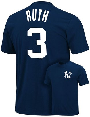 New York Yankees Majestic babe ruth cooperstown collection tee