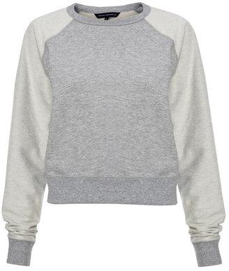 French Connection Vera Vintage Sweatshirt Gray