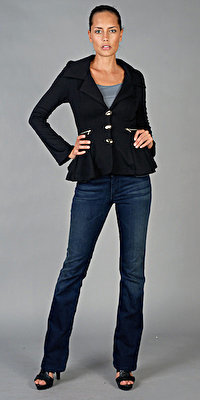 Long Sleeved Black Jacket from Smooph