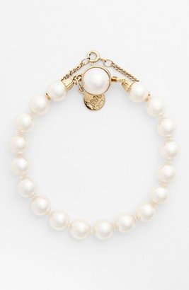 Women's Majorica 8Mm Single Row Pearl Bracelet $110 thestylecure.com