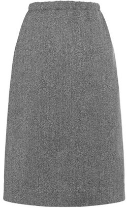 Marni Preorder Anthracite Pencil Skirt
