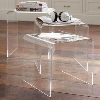 Pottery Barn Teen Acrylic Nesting Tables