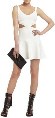 BCBGMAXAZRIA Elyzabeth Crossed Cutout Dress