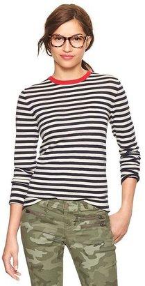 Gap Stripe crew pullover