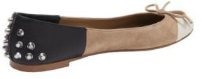 Dolce Vita Zulu Suede & Faux Leather Color-Block Flats