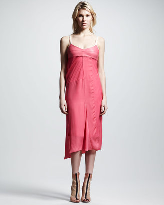 Reed Krakoff Patchwork Slip Dress