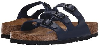 Birkenstock Florida Soft Footbed - Birko-Flortm (Navy Birko-Flortm) Women's Sandals