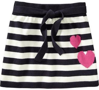 Old Navy Girls Tie-Belt Sweater-Knit Skirts