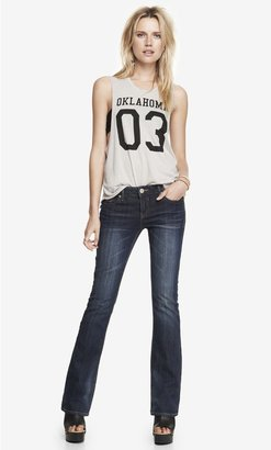 Express Low Rise Boot Cut Jean