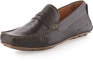 Ben Sherman Kaleb Leather Loafer, Black