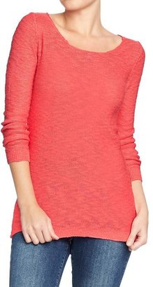 Old Navy Women's Marled 3/4-Sleeve Sweaters