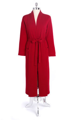 Lord & Taylor Cashmere Long Sweater Robe