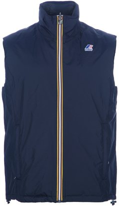 K-Way 'Yannick' padded gilet