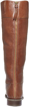 Nine West Counter Zip-Back Wide-Calf Riding Boots