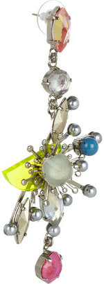 Erickson Beamon Nexus Swarovski crystal earrings