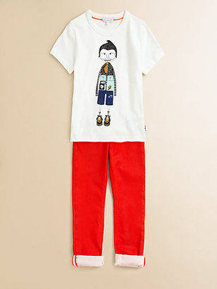 Little Marc Jacobs Boy's Graphic Tee