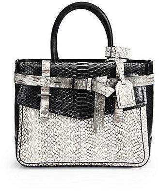 Reed Krakoff Python Boxer Bag