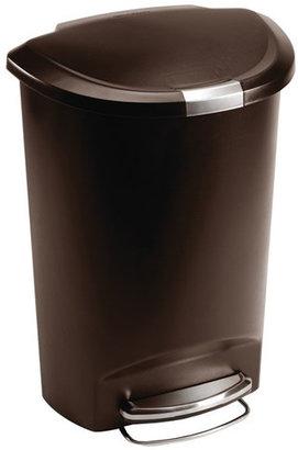 Simplehuman 13-Gal Step-On Trash Can
