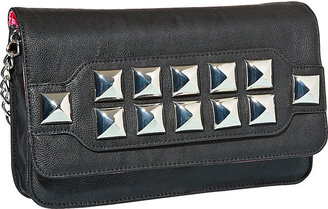 Betsey Johnson Stud Muffin Clutch With Strap