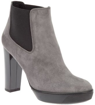 Hogan colour block boot