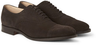 Church's Suede Oxford Brogues
