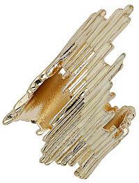 Dorothy Perkins Gold look spike 2 pack rings
