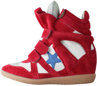 Isabel Marant Bayley High-Top Sneaker