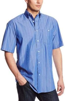 Wrangler Men's Tall 20X Collection Short Sleeve One Pocket Shirt