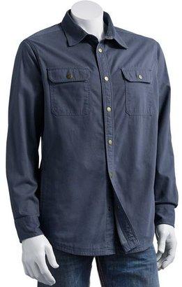 Croft & barrow® twill shirt jacket - men