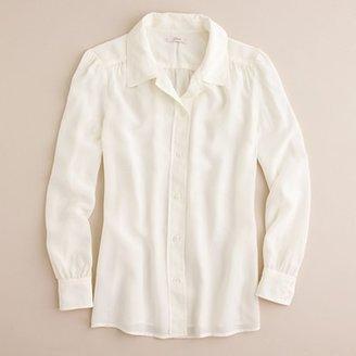 J.Crew Silk Lucinda blouse