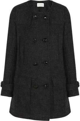 Etoile Isabel Marant Clifford double-breasted wool-blend coat