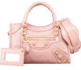 Balenciaga Giant 12 Golden City Mini Bag, Rose Peche