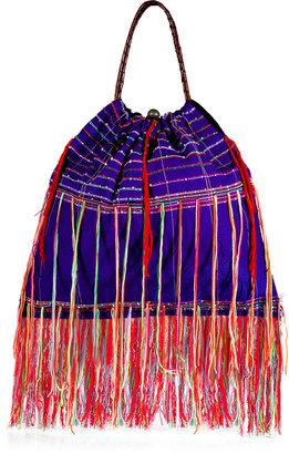 Elliot Mann Purple/Multicolor Karen Bag