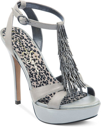 Jessica Simpson Shoes, Bennies Platform Evening Sandals