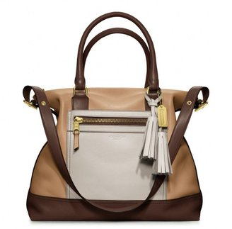 Coach Legacy Colorblock Leather Rory Satchel
