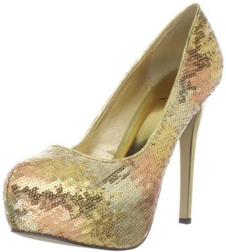 Luichiny Women's Sa Lest Platform Pump