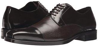 Mezlan Soka (Black) Men's Lace Up Cap Toe Shoes