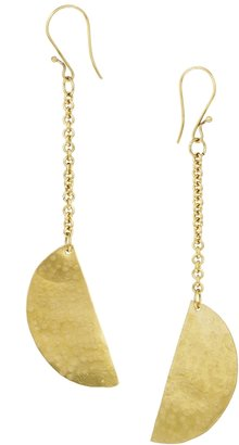 People Tree Half Moon Earrings - Gold