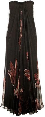 Alexander McQueen Tulip-print dress