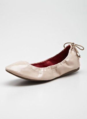 Wanted Panama Ballet With Laceup Back