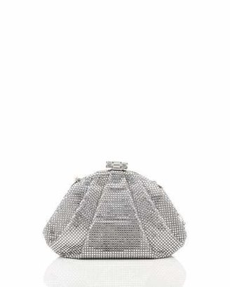 Judith Leiber Couture Enchanted Allover Beaded Pochette, Silver Rhine $3,495 thestylecure.com