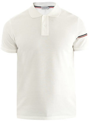 Moncler Banded sleeve polo top