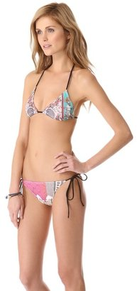 Taj Mahal Clover canyon Necklace Bikini Top